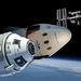 Caption: Artist concept of Boeing's CST-100 Starliner and the SpaceX Crew Dragon approaching the International Space Station., Credit: NASA