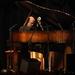 Caption: Master pianist George Winston.