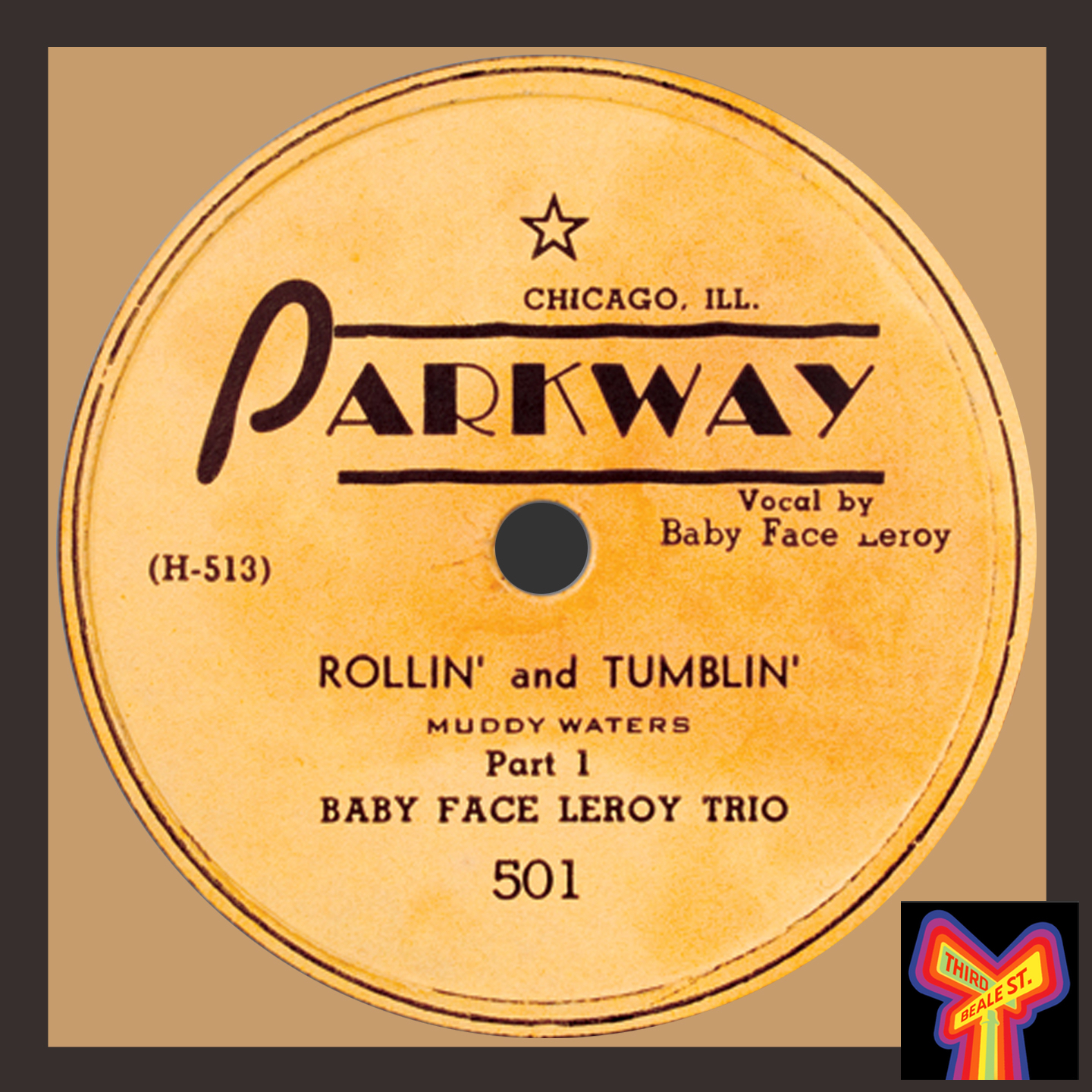 "Caption: One of the high-water marks of Chicago Blues, ""Rollin' And Tumblin'"" by Muddy Waters, Little Walter, and Baby Face Leroy."