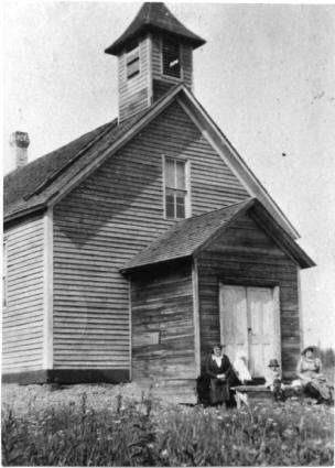 Caption: Chippewa City Church