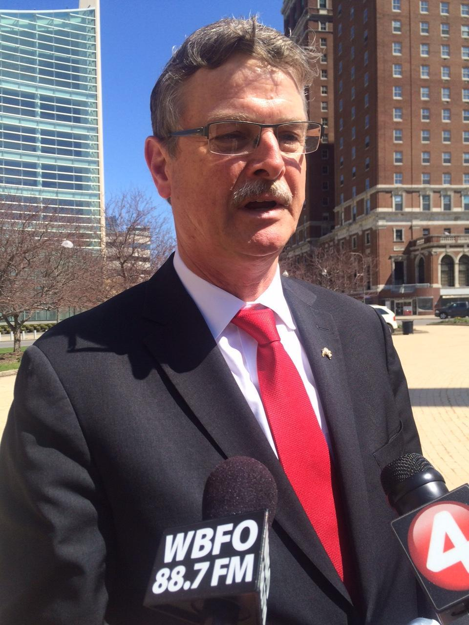 Caption: Niagara Falls (N.Y.) Mayor Paul Dyster, Credit: WBFO file photo