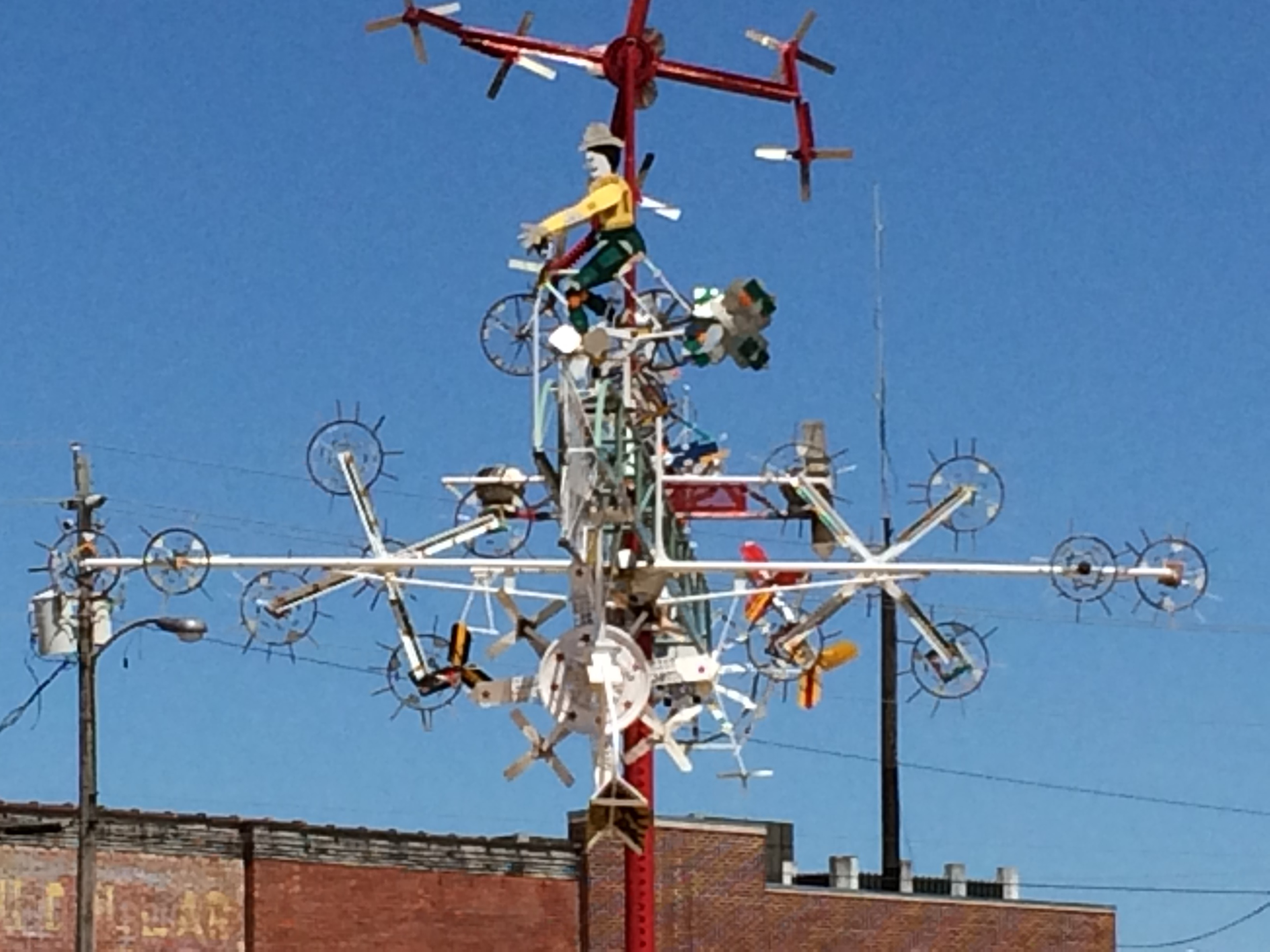 Caption: Whirligig, Credit: Photo by Tonya Fitzpatrick
