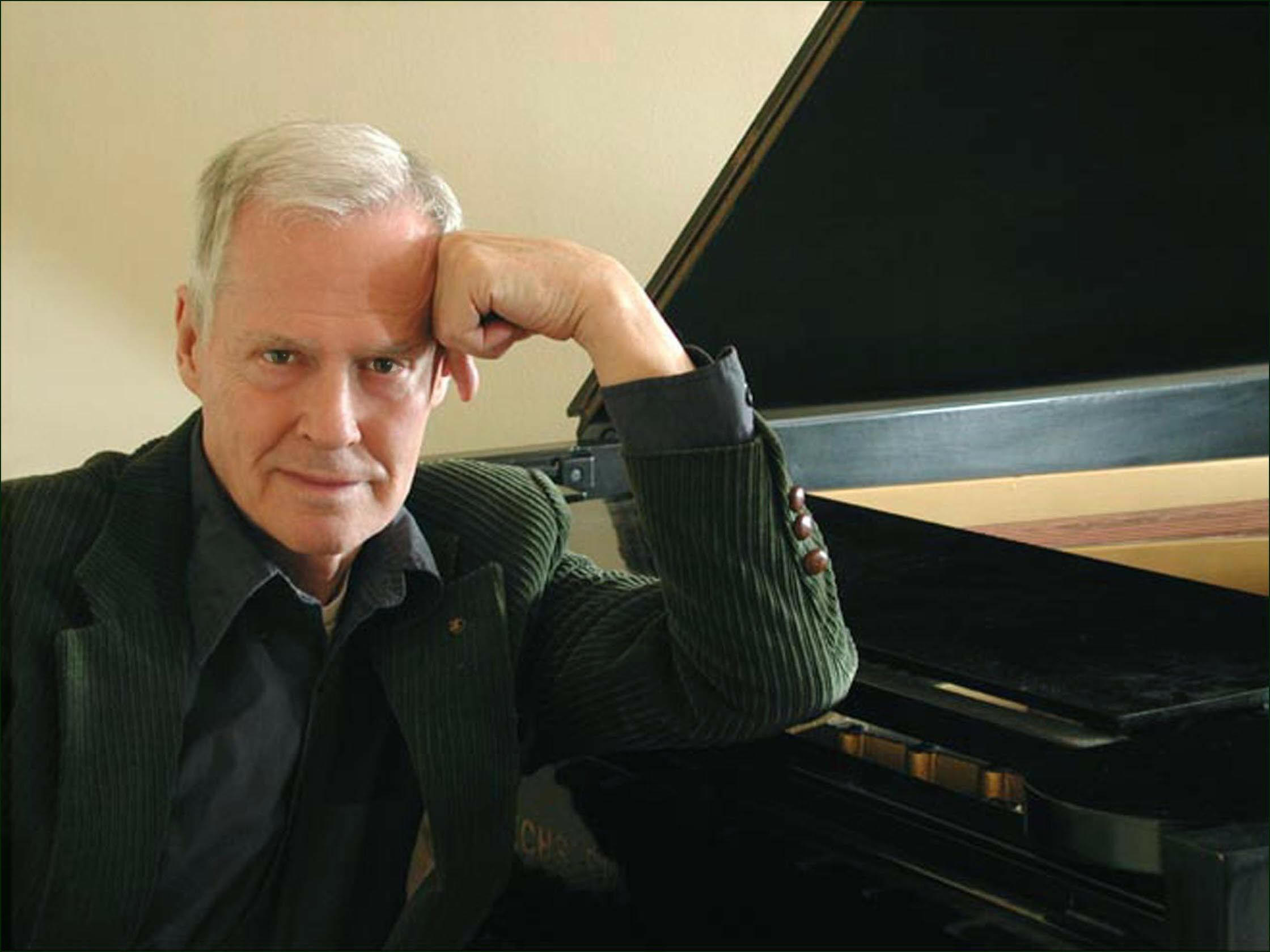 Caption:  Composer Ned Rorem, Credit: Christian Steiner