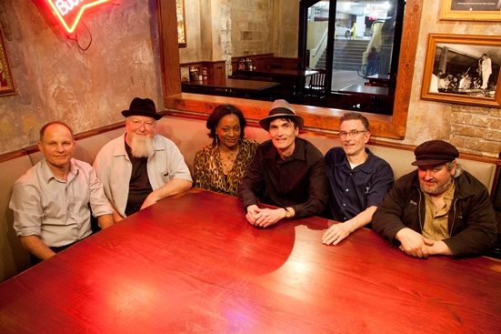 Caption: Paul Barry and the Ace Tones with Lila Ammons, Credit: Kent Flemmer