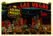 Caption: A vintage Las Vegas promotional stick showing a line drawing of the old strip done in neon bright pen strokes., Credit: jericl cat/Flickr