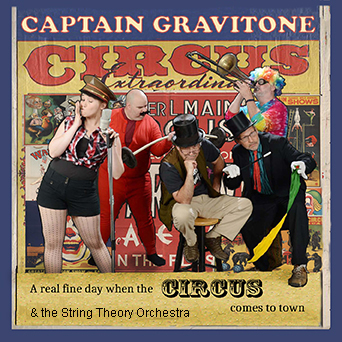 Caption: Captain Gravitone CD Cover Art, Credit: Al Fack