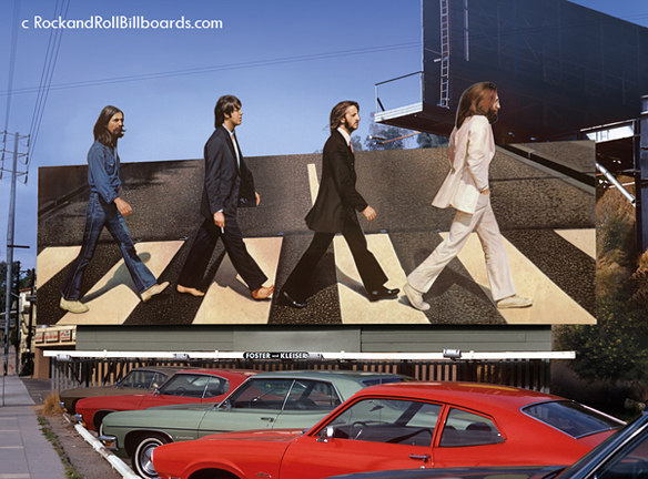 Caption: The Beatles - Abbey Road, Credit: Robert Landau