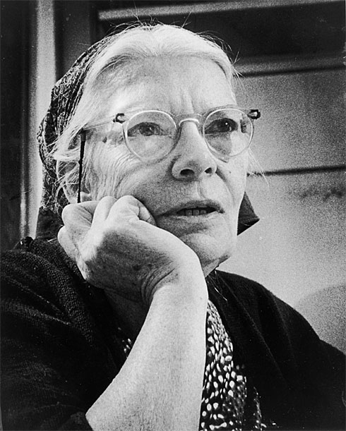 Caption: Dorothy Day