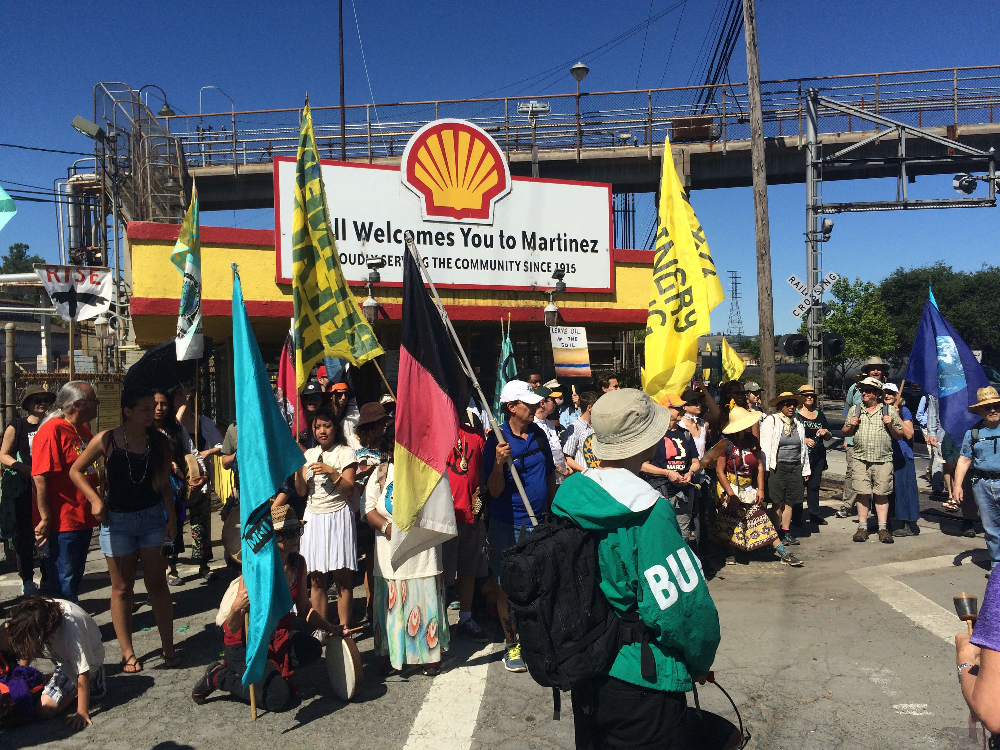 Caption: Refinery Healing Walk, Credit: Isabella Zizi