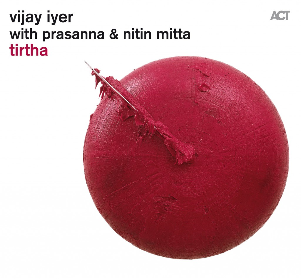 "Caption: Album art of Vijay Iyer's 2011 album, ""Tirtha"""