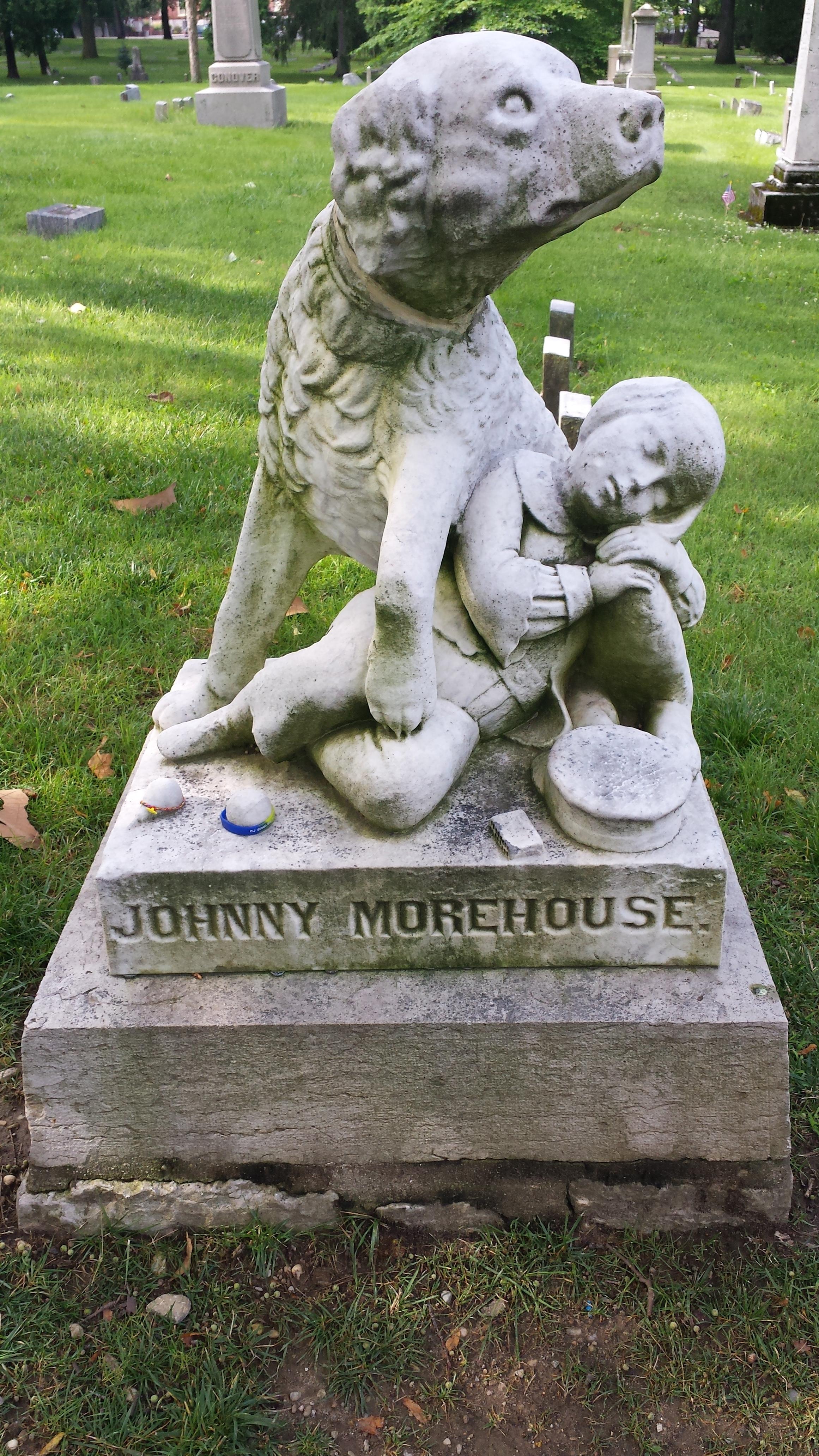Caption: Johnny Morehouse Memorial, Credit: Renee Wilde
