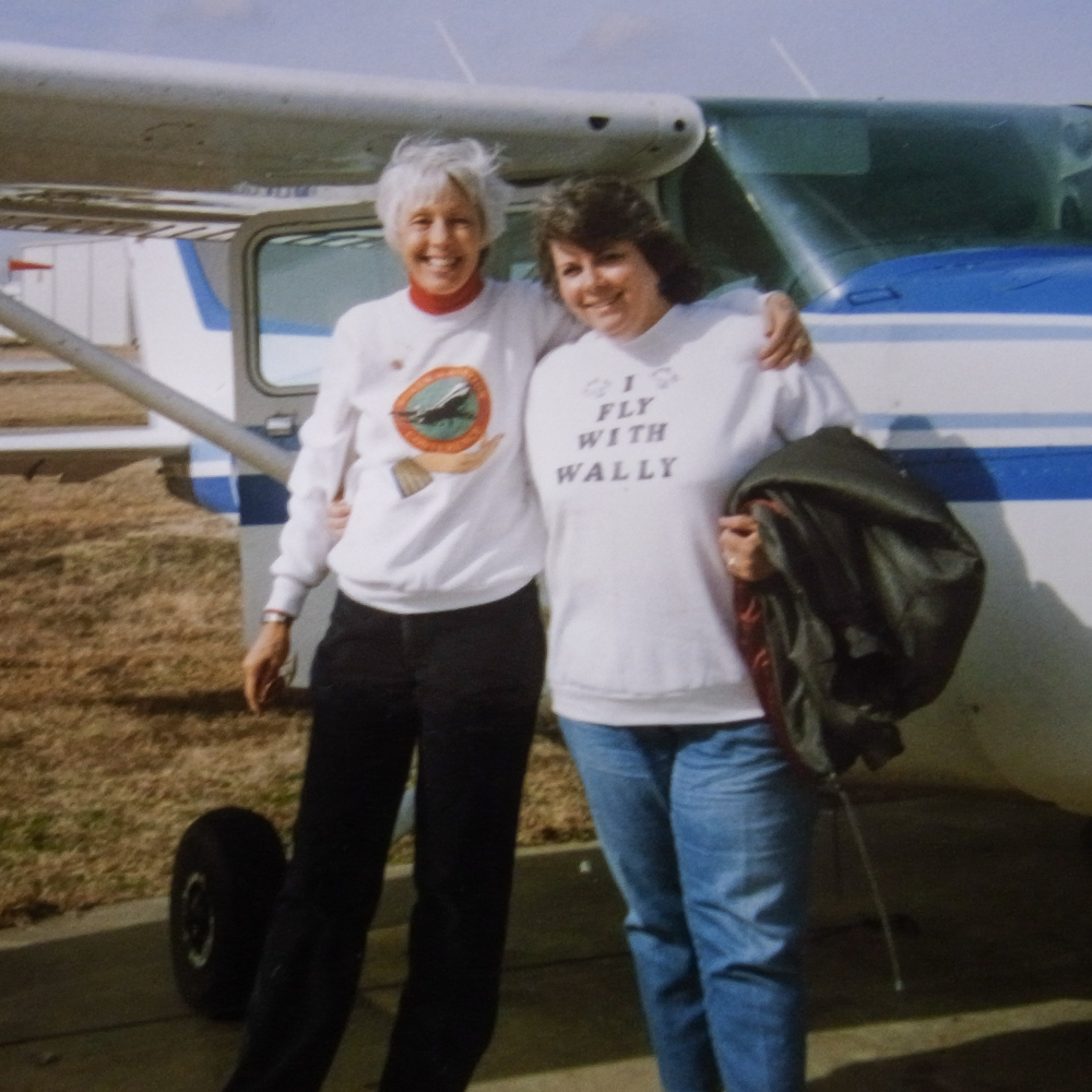 Caption: Wally and Mary, circa 1993. , Credit: Photo courtesy of Mary Holsenbeck.