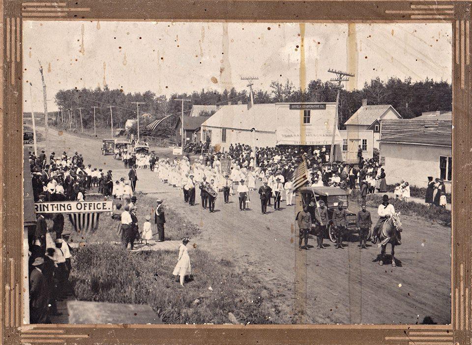 Caption: Grygla, MN - Circa 1920's