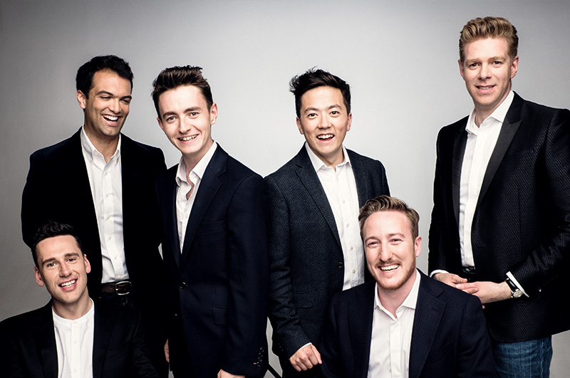 Caption: The King's Singers, Credit: kingssingers.com