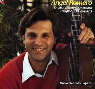 Caption: Angel Romero, Credit: EMI Records