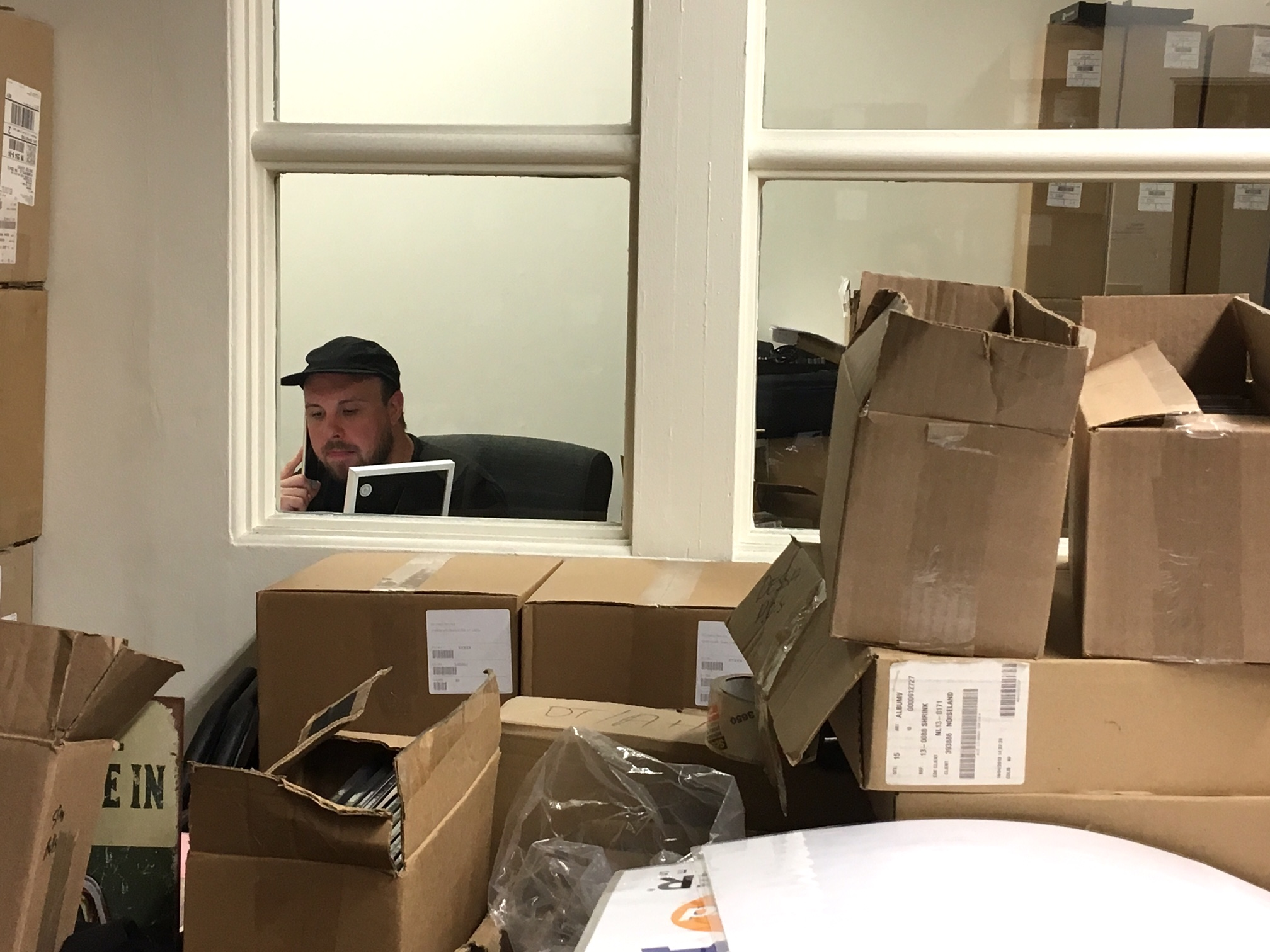 Caption: Lazerbeak, CEO of Doomtree Records, Credit: Nancy Rosenbaum