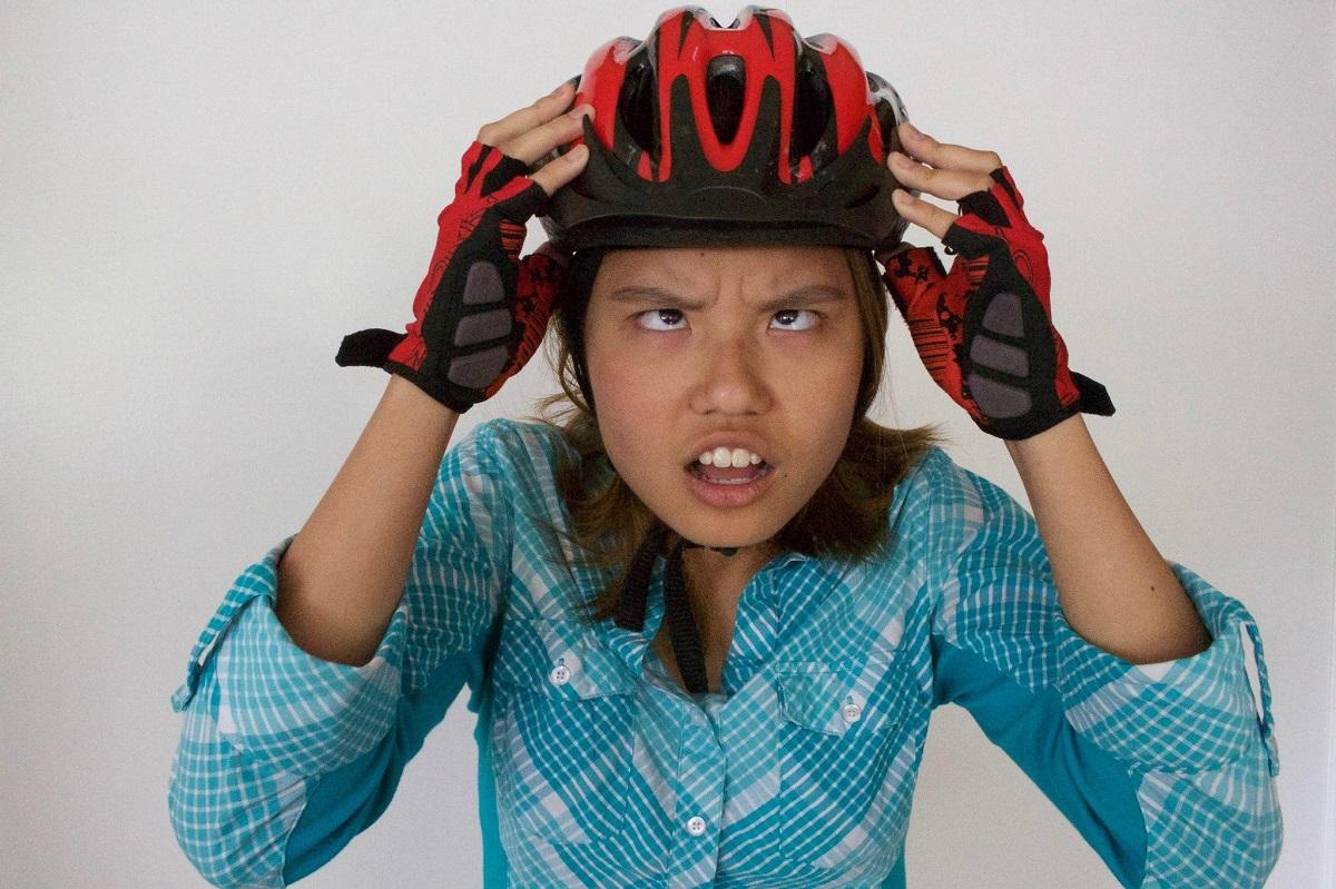 Caption: Diana Nguyen used to be lazy. Then she got on a bike., Credit: KUOW PHOTO/MELISSA TAKAI