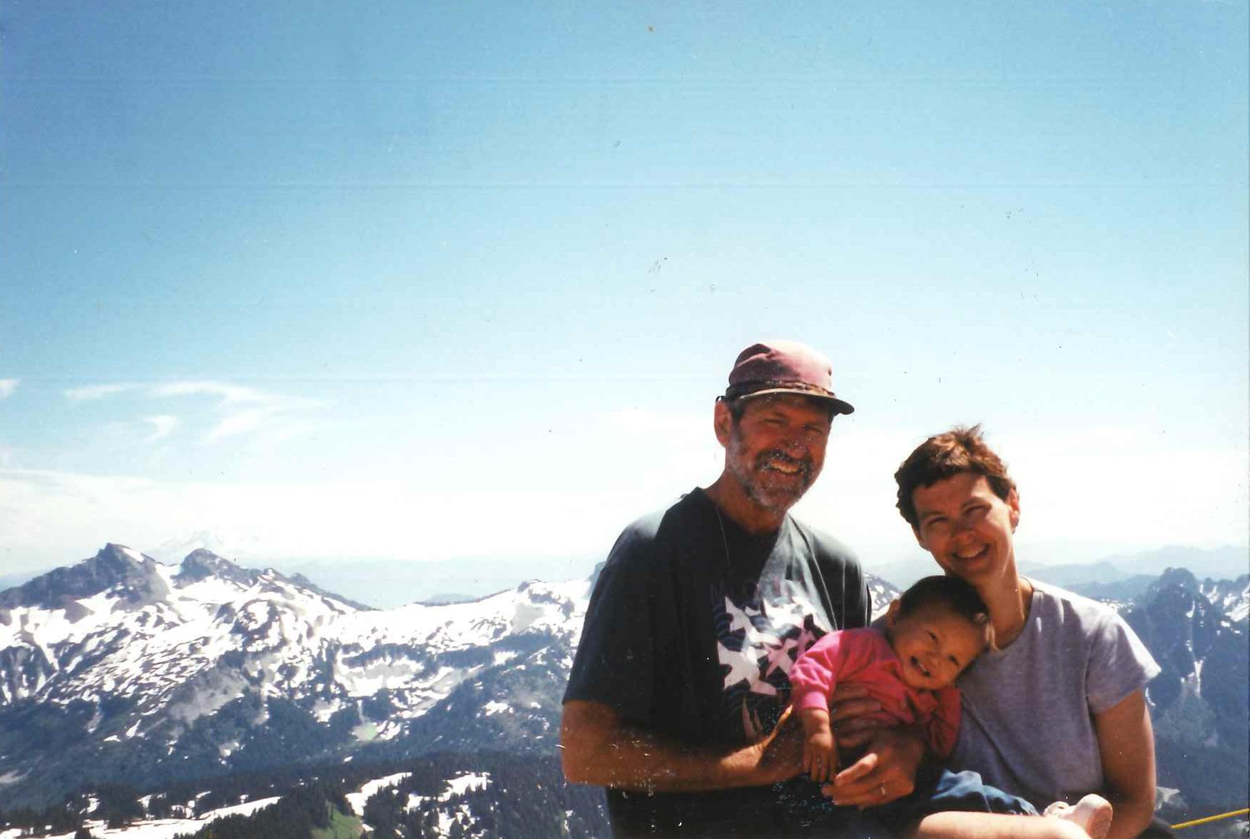 Caption: Maya and her parents., Credit: Courtesy of Maya Konz