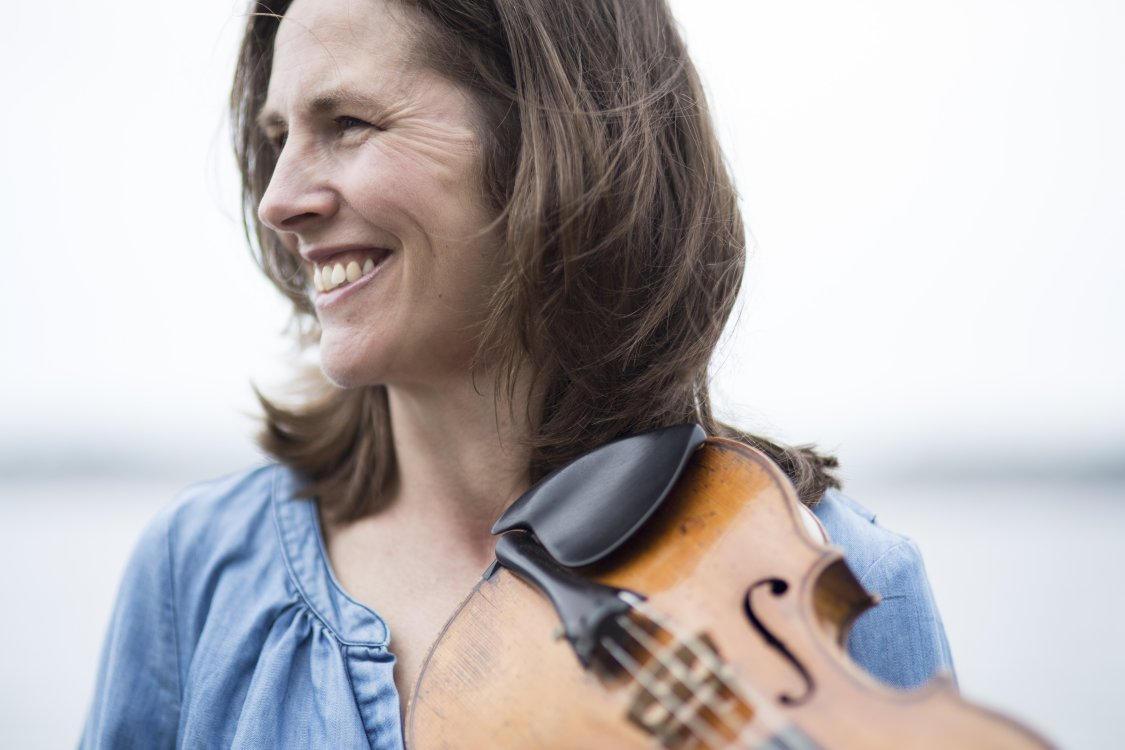 Caption: Violinist Cecilia Zilliacus, Credit: zilliacus.se