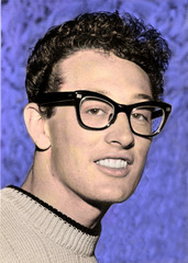 Caption: Buddy Holly