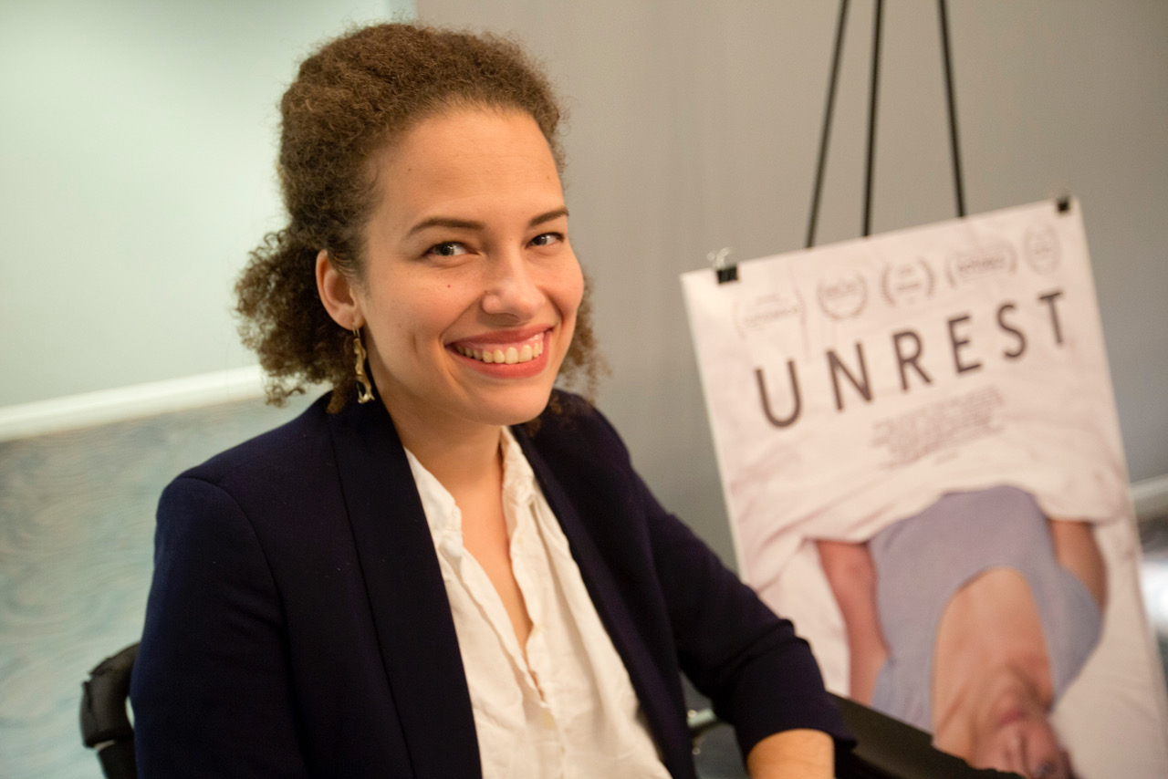 Caption: Jennifer Brea, Credit: Tommy Lau