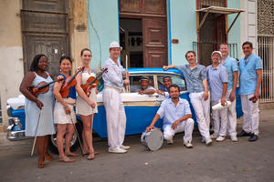 Caption: Charanga Tropical, Credit: Walter Horishnyk