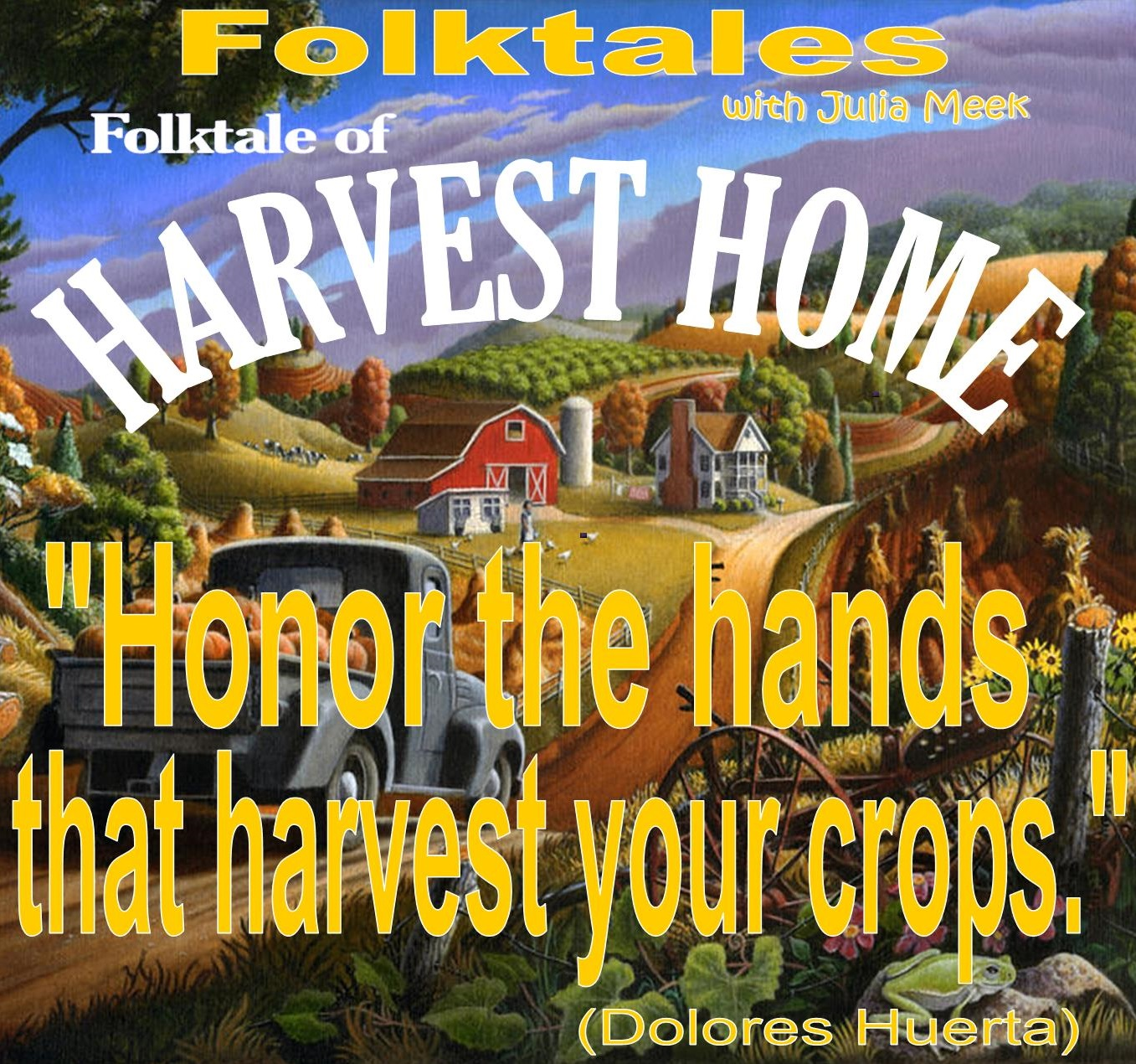 Caption: WBOI's Folktale of Harvest Home, Credit: Julia Meek