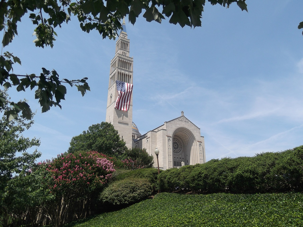 Caption: Basilica of the National Shrine of the Immaculate Conception