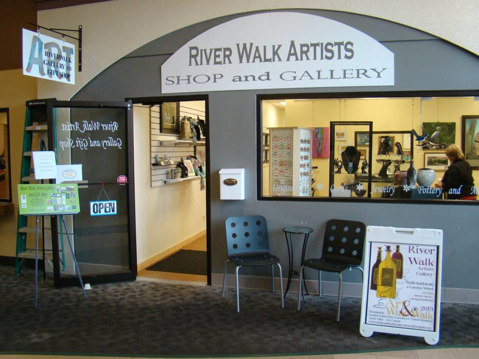 Caption: NW Minnesota Arts Council Gallery in East Grand Forks, MN