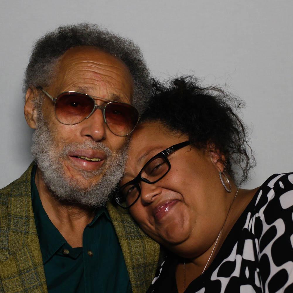 Caption: Ronald Clark and Jamilah Clark