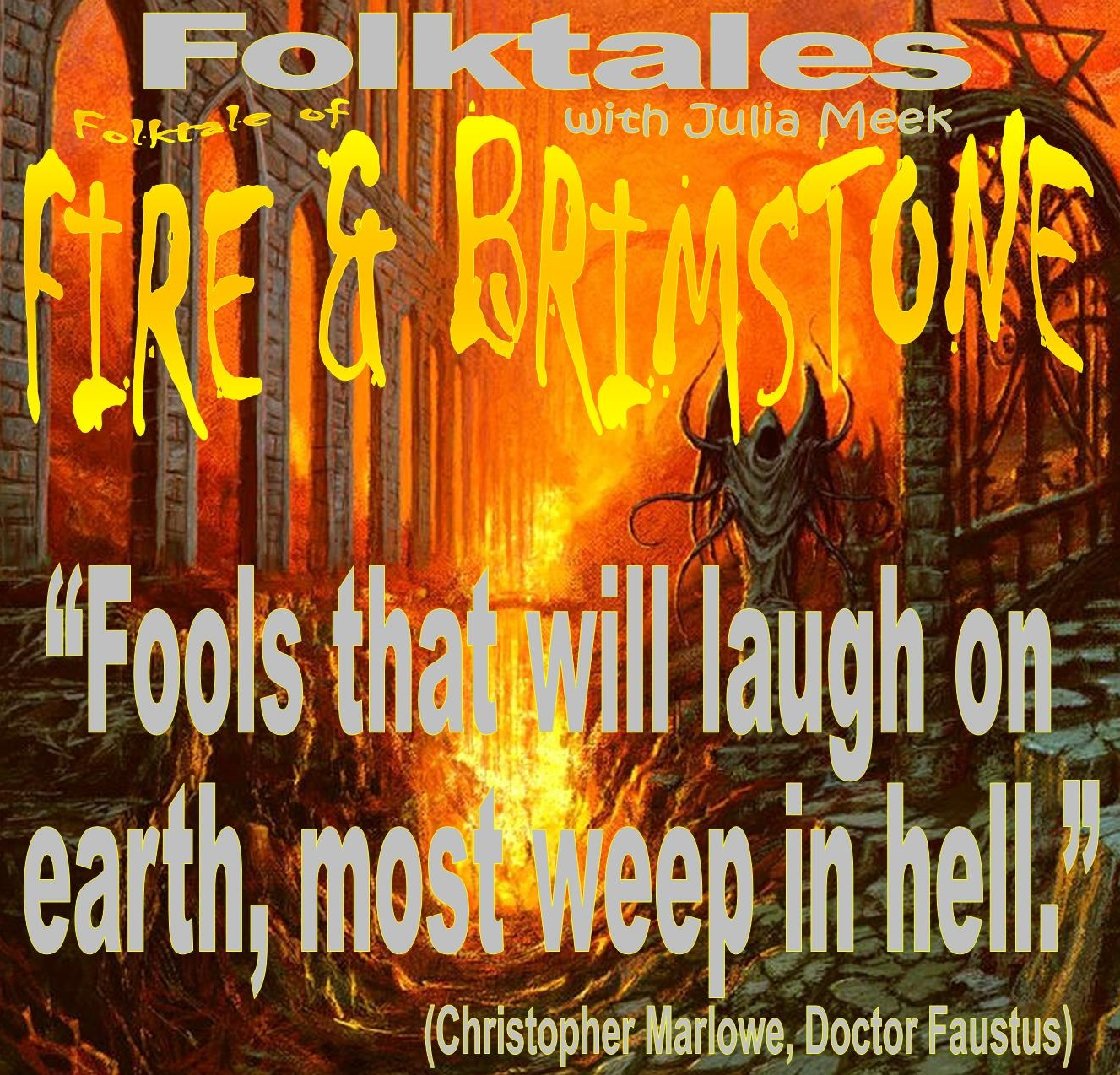 Caption: WBOI's Folktale of Fire & Brimstone, Credit: Julia Meek