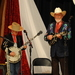 Caption: Our WoodSongs Kid Cutter Singleton performs with Doyle Lawson.