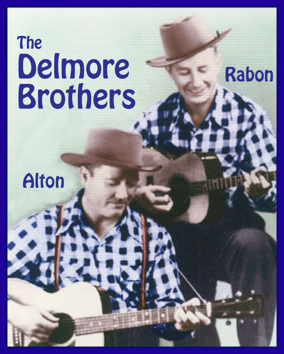 "Caption: The Delmore Brothers, in a publicity photo from their heyday in the 1930s.  They played a major role in establishing the ""brother duet"" sound of close singing harmonies that persists in country and pop music today.   , Credit: Deborah Delmore, Public Domain"