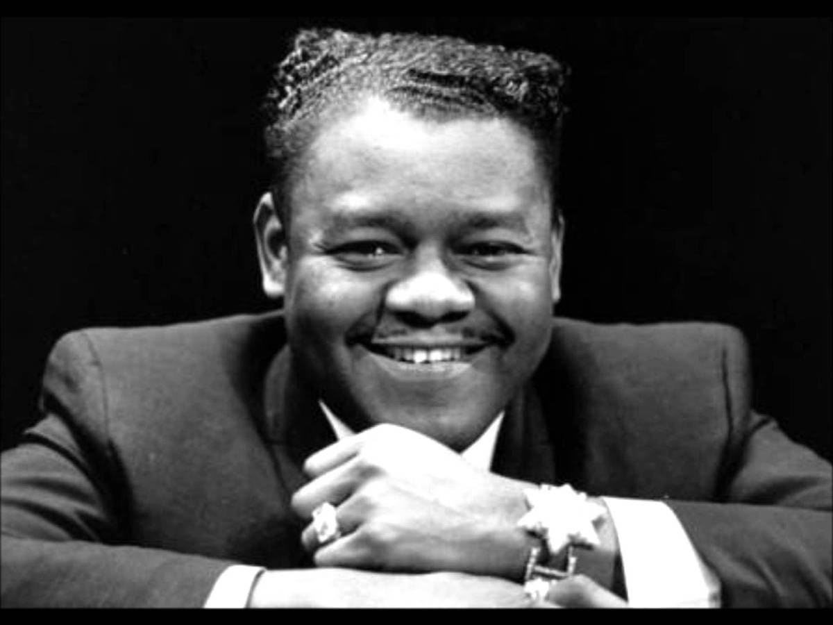 Caption: Fats Domino