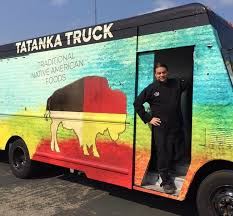 Caption: Chef Sean Sherman's Tatanka Truck will now be the new White Earth Market Truck on the White Earth reservation.