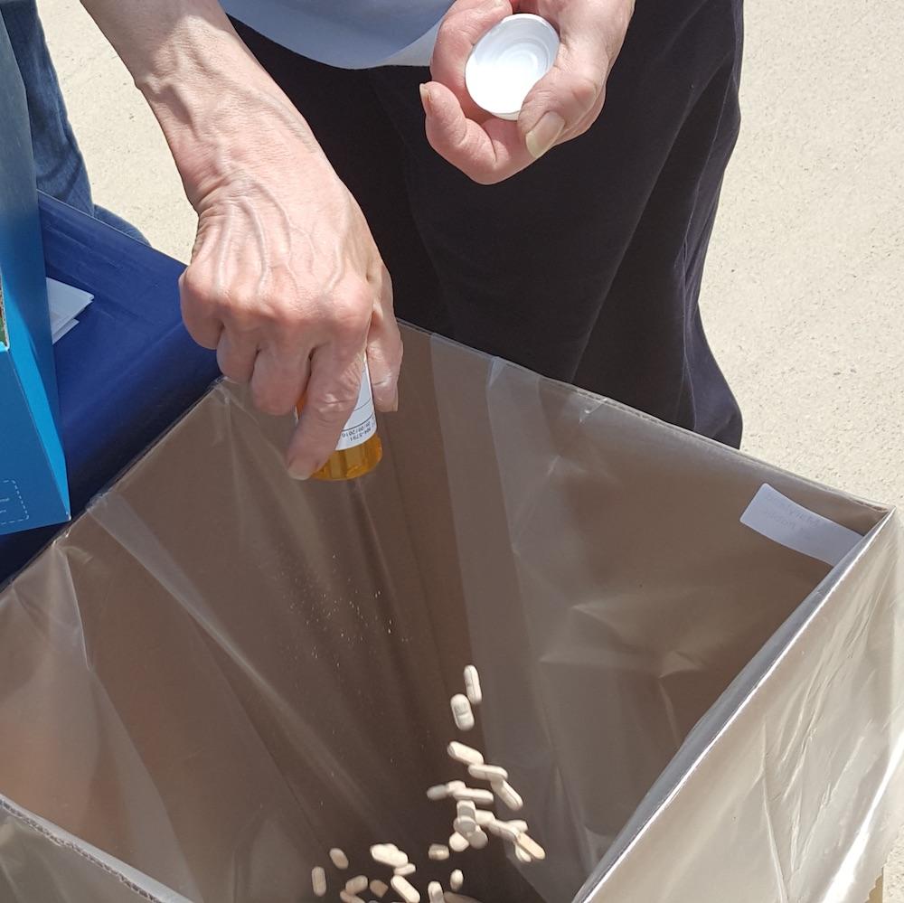 Caption: Drug Take Back Program / US Drug Enfocement Administration, Credit: PHOTO SOURCE: US Drug Enfocement Administration