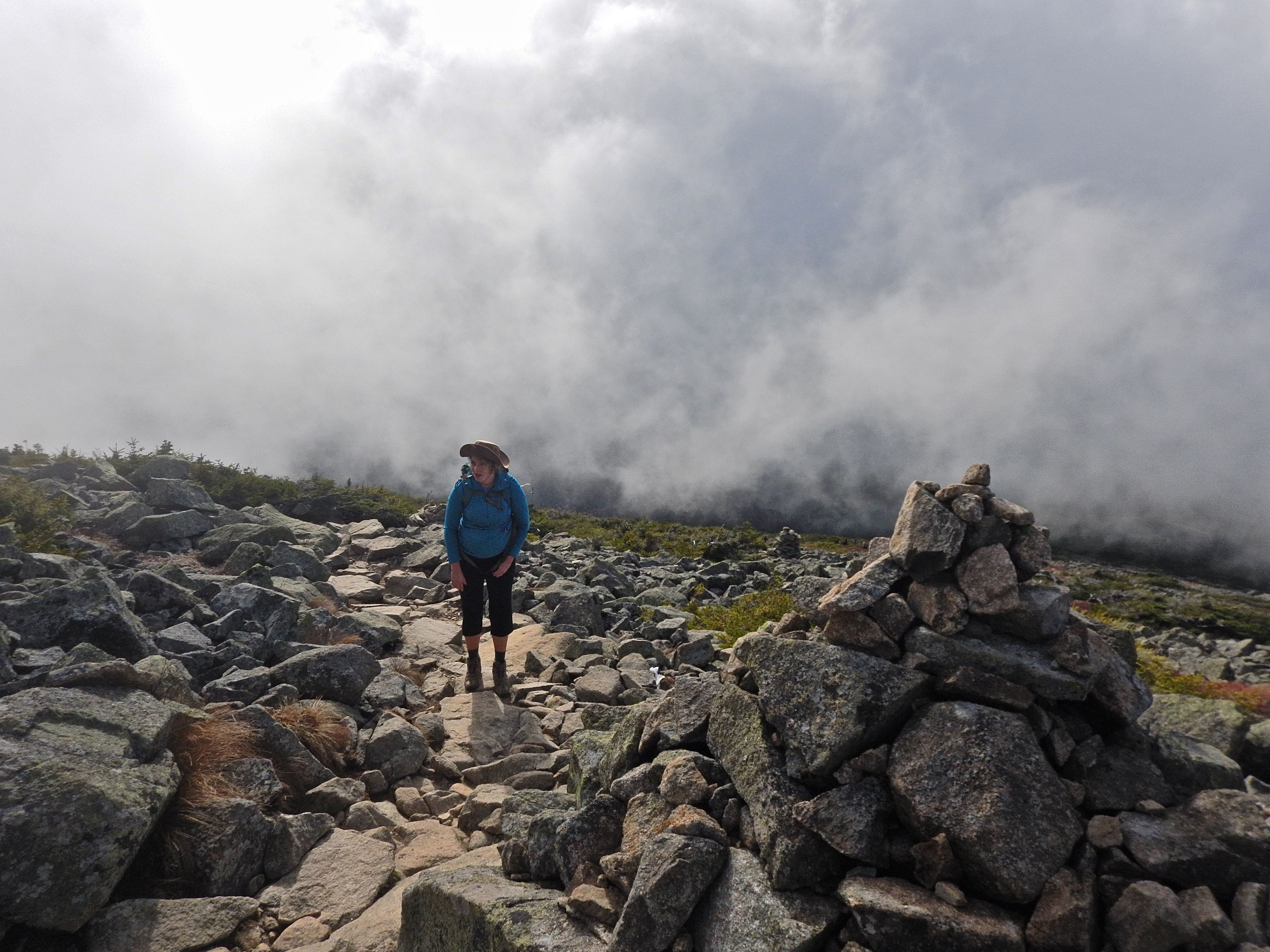 Caption: Atmospherics on Mt. Lafayette, NH, Credit: Brian Aust