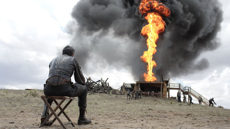 Caption: Daniel Day-Lewis in Paul Thomas Anderson's 'There Will Be Blood'
