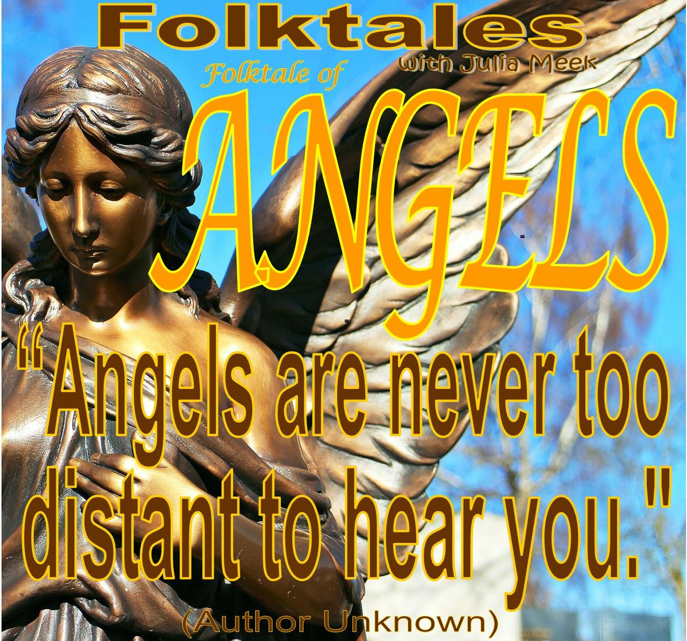 Caption: WBOI's Folktale of Angels, Credit: Julia Meek
