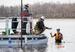 Caption: Cleanup n the St. Louis River near Duluth, Minn., Credit: Derek Montgomery, MPR News
