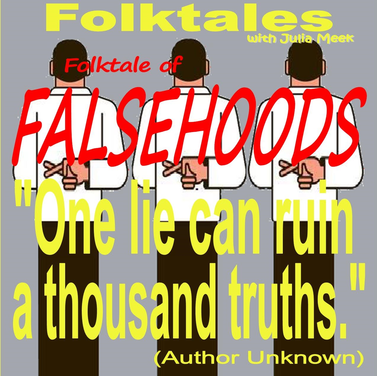 Caption: WBOI's Folktale of Falsehoods, Credit: Julia Meek