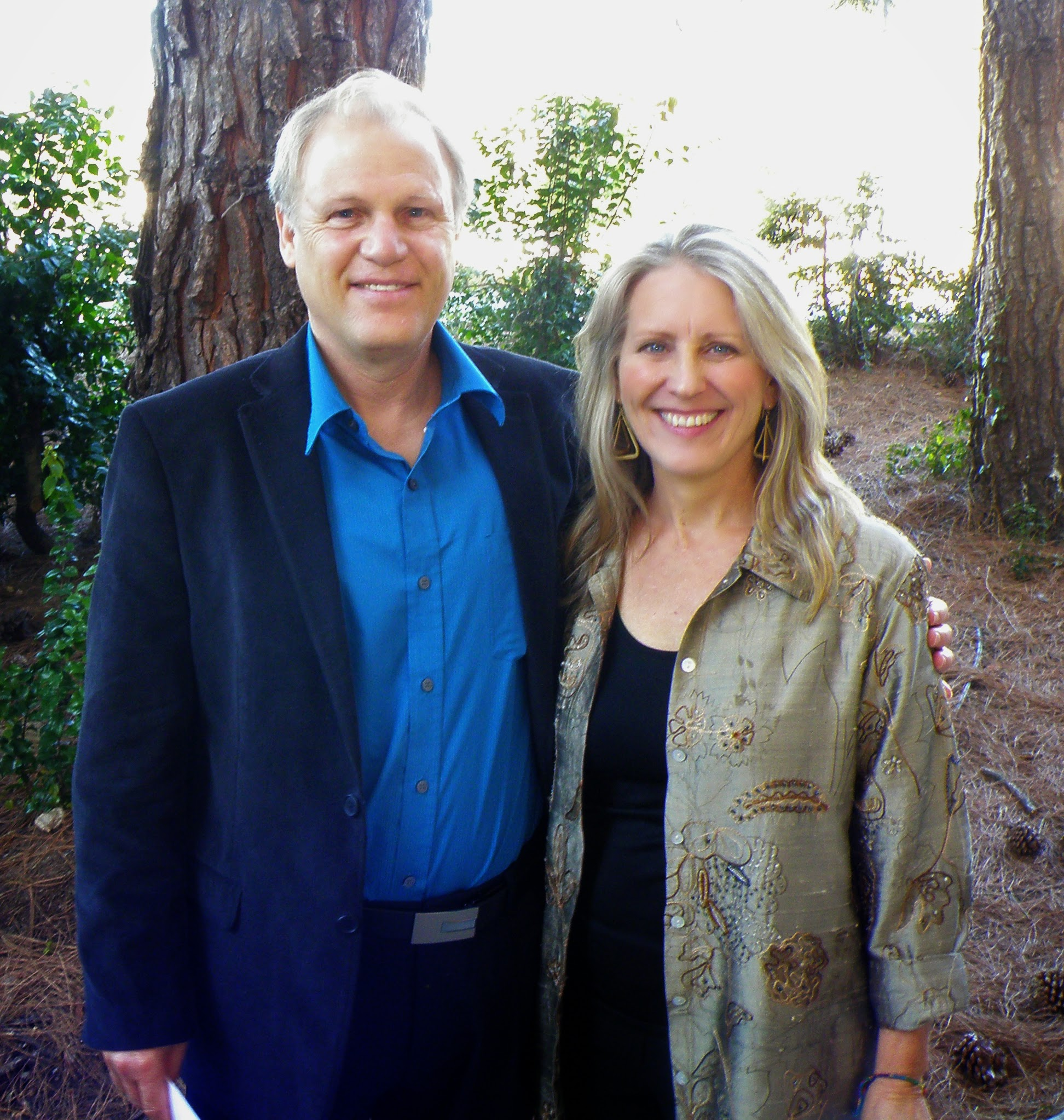 Caption: Will Keepin and Cynthia Brix