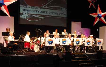 Caption: River City Jazz Orchestra, Credit: Marlene Kryder