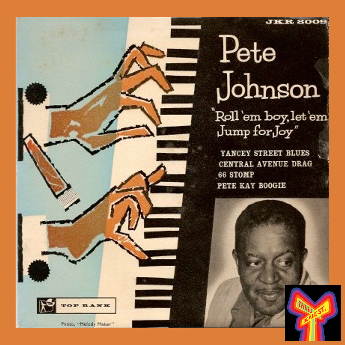 Caption: A rare EP from West Coast keyboard legend Pete Johnson.