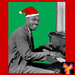Caption: Blues piano legend Leroy Carr, ready for the holidays!