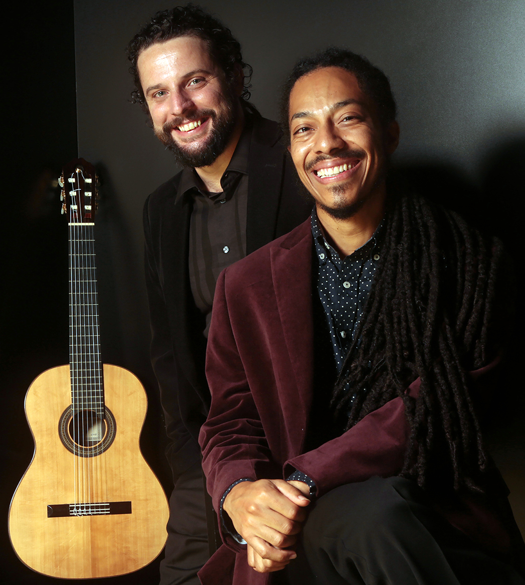 Caption: Brasil Guitar Duo, Credit: Concert Artists Guild
