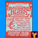 Caption: Original poster advertising the 1968 Memphis Country Blues Festival. Image courtesy of Mike Vernon/Blue Horizon Records.