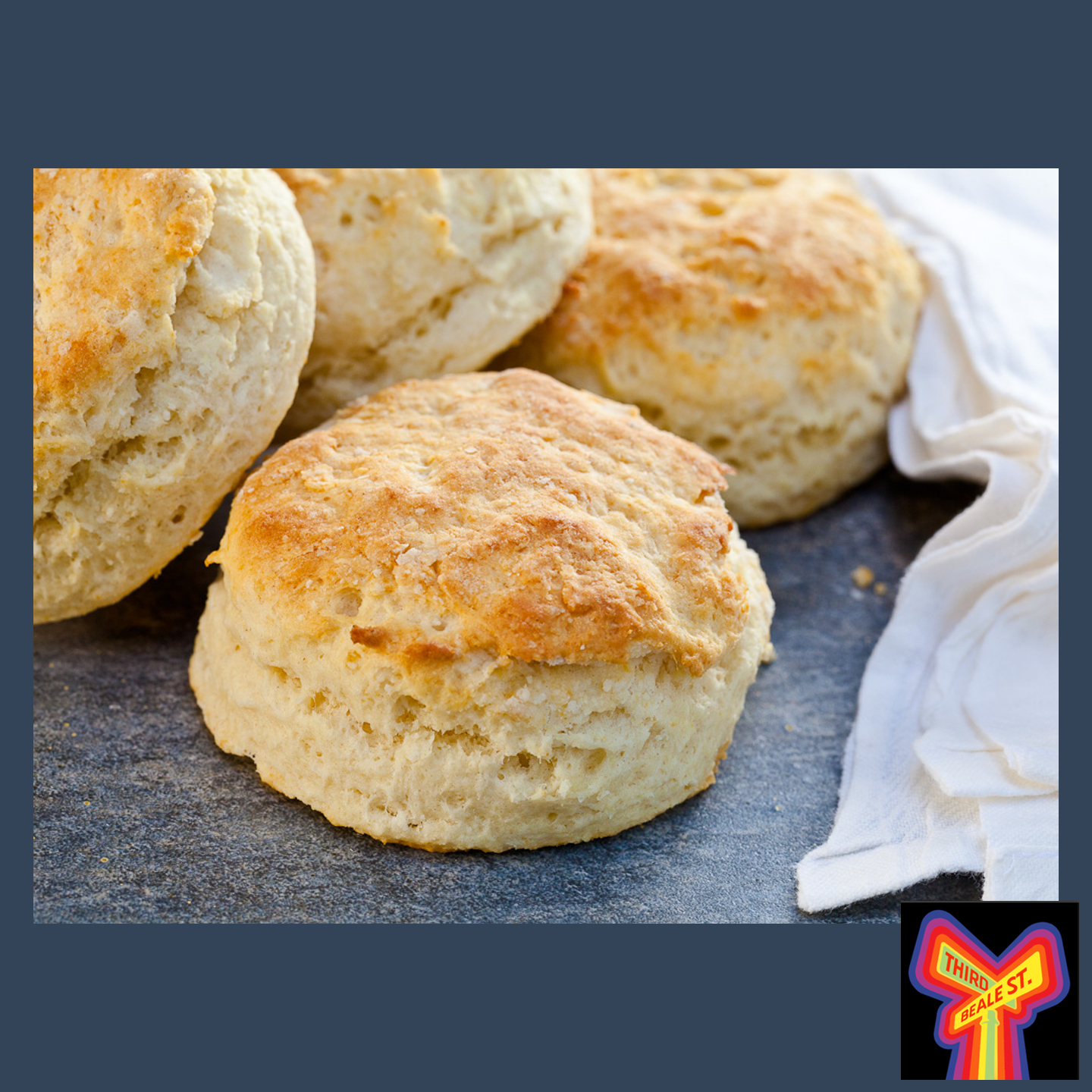 Caption: The perfect complement to any meal, Good Biscuits — just ask Memphis Minnie!