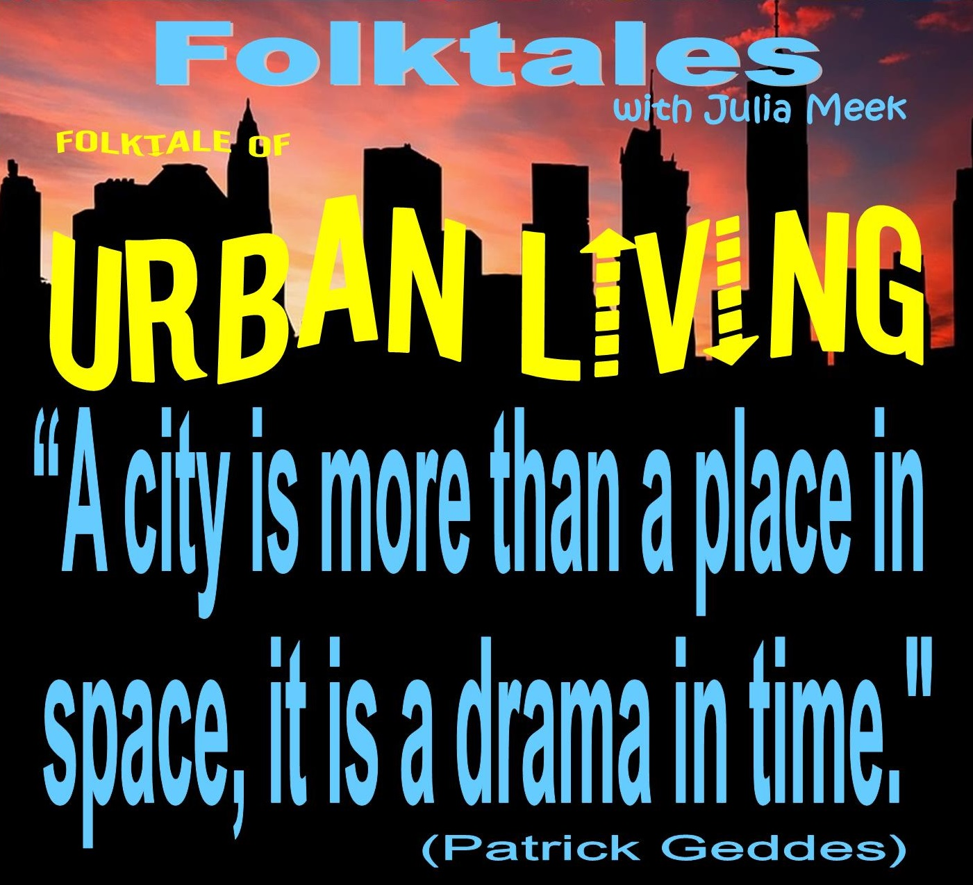 Caption: WBOI's Folktale of Urban Living, Credit: Julia Meek