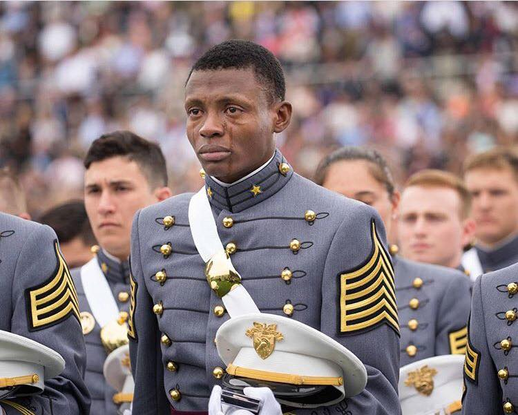 Caption: USMA commencement, Credit: US military photo via West Point by Vito T. Bryant